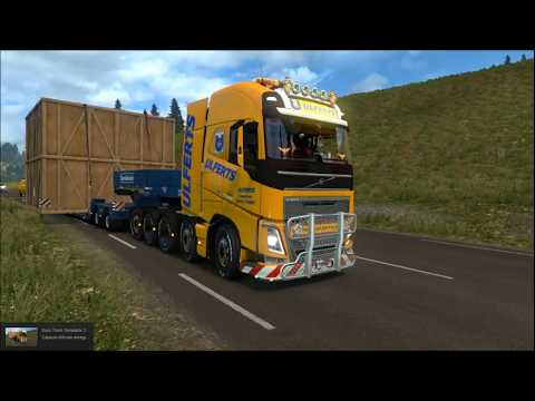 Volvo FH 2012 8x4 and 10x4 v10.1 ETS2 1.31.x
