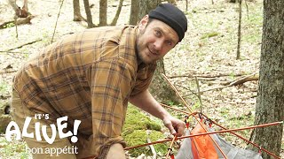 Brad Makes Mistakes | It's Alive Camping Outtakes | Bon Appétit