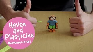 #havenmonsters with Haven and Plasticine (02:07)