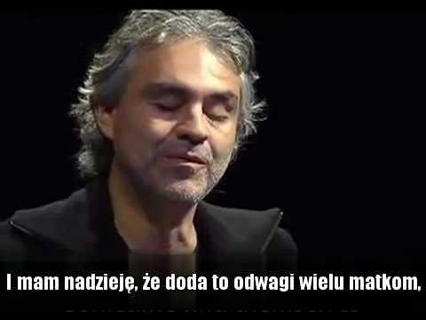 Andrea Bocelli opowiada historię...