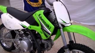 3. 2009 Kawasaki KLX110