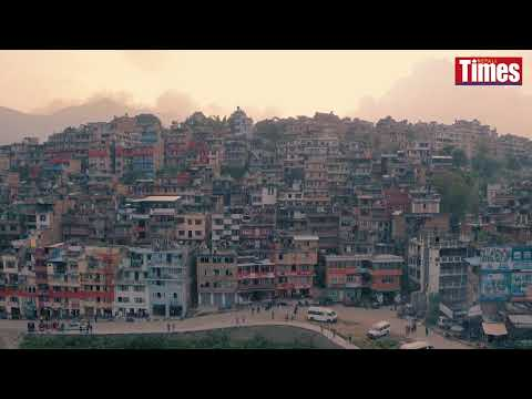 (Kirtipur by drone - Duration: 81 seconds.)