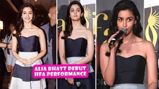 Alia Bhatt Debut IIFA Performance