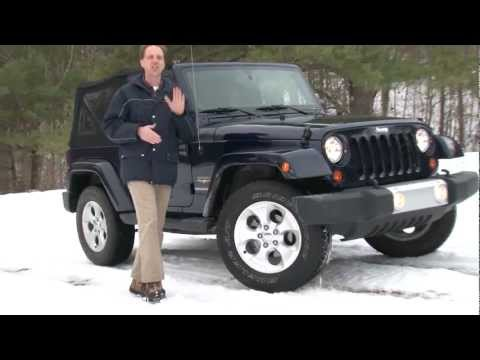 2013 Jeep Wrangler – Drive Time Review with Steve Hammes