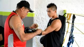 Pablo ´El Trencito´ Carrillo se prepara para combate en Montería