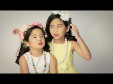 B/TV: Behind The Scenes - Julia and Talia Concio for Baby Bench Scents