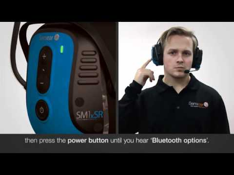 bluetooth communications - Setup a Sensear smart ear muff with a Bluetooth two-way radio or a two-way radio with a Bluetooth dongle. It is important to complete the steps in the Connec...