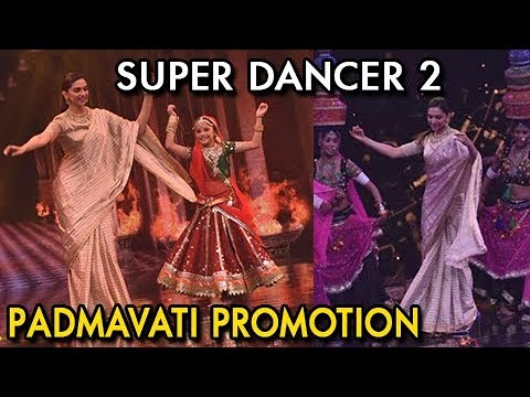 Deepika Padukone Performs Ghoomar On Super Dancer