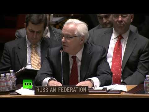 Виталий Чуркин ответил на обвинения