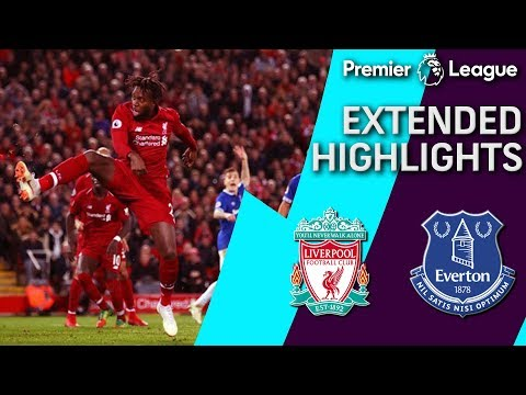 Liverpool V. Everton | PREMIER LEAGUE EXTENDED HIGHLIGHTS | 12/02/18 | NBC Sports