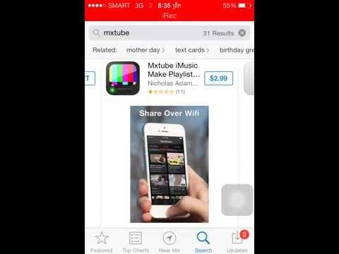 How To Download Video On YouTube With MxTube~ IPhone