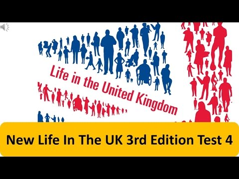New Life In The UK 3rd Edition Test 4