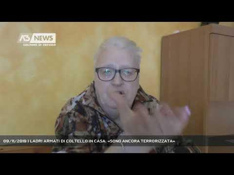 09/11/2019 | LADRI ARMATI DI COLTELLO IN CASA: «SONO ANCORA TERRORIZZATA»