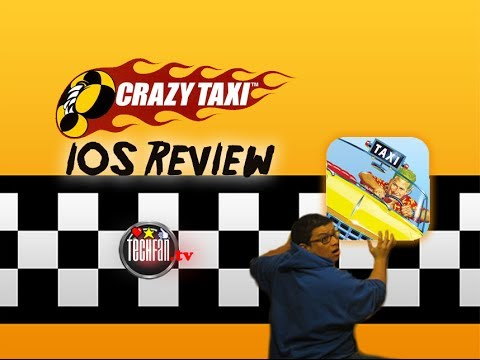 Crazy Taxi iPhone Gameplay Video review  – SUPER FUN!!!!!!!