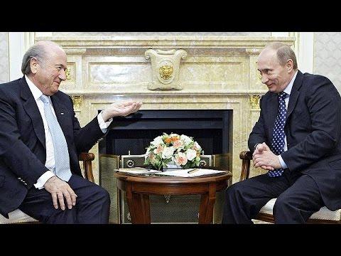 Sepp Blatter a encore de nombreux alliés, Vladimir Poutine en fait partie