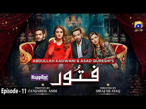 Fitoor - Ep 11 [Eng Sub] - Digitally Presented by Happilac Paints - 4th Mar 2021 - HAR PAL GEO