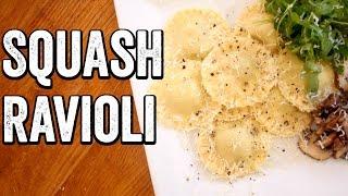 BUTTERNUT SQUASH RAVIOLI by  My Virgin Kitchen