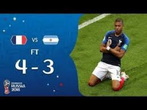 Fifa World Cup 2018 FRANCE vs ARGENTINA ● All Goals & Highlights HD ● 30 June Match