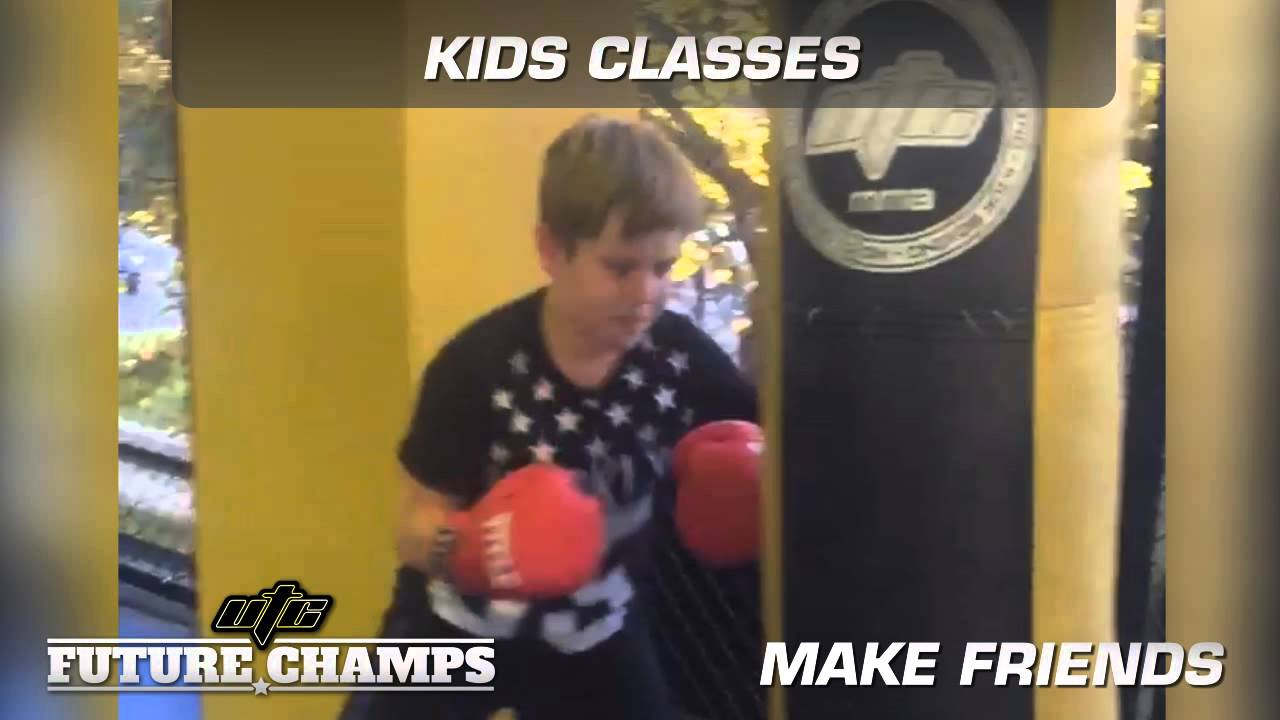 Snippet of the Kids classes available 6 days a week