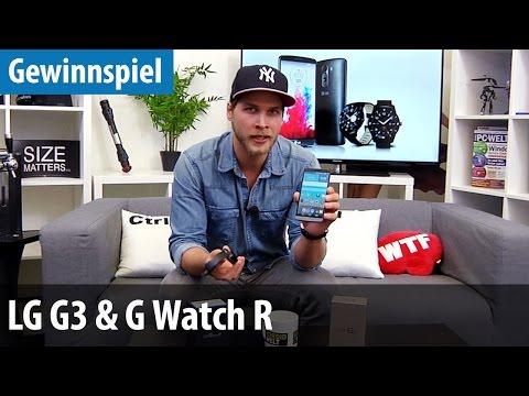 R - Pünktlich zu Weihnachten hat die AndroidWelt ein cooles Package bestehend aus dem Highend-Smartphone LG G3 und passender Smartwatch LG G Watch R verlost. Ob Du der glückliche Gewinner ...
