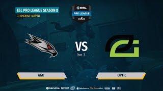 AGO vs OpTic - ESL Pro League S8 Relegation - map3 - de_mirage [ceh9]