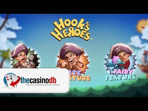Hook's Heroes Slot - New NetEnt Slot Game