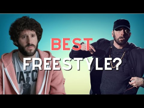 Best White Rapper Freestyle? (Lil Dicky/Mac Miller/Eminem/G-Eazy/MGK/Logic)