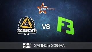Godsent vs FlipSid3 - DreamHack Winter - de_train
