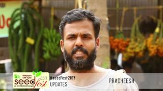 Seedfest 2017 – Through the words of Pradheesh