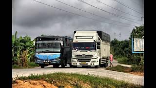 Video Kompilasi Aksi Sopir Bus LINTAS SUMATRA  PART2 MP3, 3GP, MP4, WEBM, AVI, FLV Juni 2017