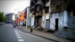 Huizhou China  city images : Cruising a Motorbike in Huizhou 惠州, China (HD 1080p Helmet-cam)