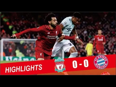 Liverpool Vs Bayern Munich 0 0 Extended Highlights 19 02 2019