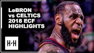 Video LeBron James EPIC Full Series Highlights vs Celtics | 2018 Playoffs East Finals MP3, 3GP, MP4, WEBM, AVI, FLV Mei 2019