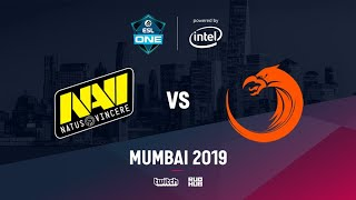 Na`Vi vs TNC, ESL One Mumbai 2019, bo3, game 1 [Inmate & Godhunt]