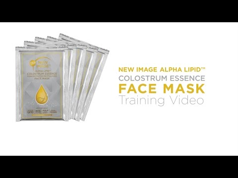 New Image Alpha Lipid Colostrum Essence Face Mask Training Video - Full Version