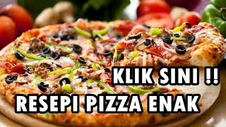 Resepi Pizza | Cara Buat Pizza Video