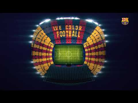 BARÇA - REAL MADRID | We Color Football: The Mosaic