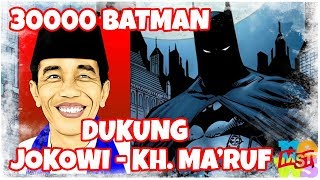 Video 30.000 Ribu Batman Dukung Jokowi-Ma'ruf Amin MP3, 3GP, MP4, WEBM, AVI, FLV Februari 2019