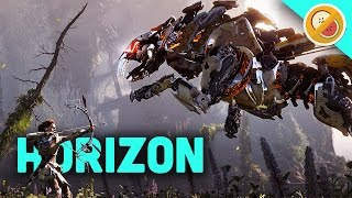 HUNTING ROBOT DINOSAURS! | Horizon Zero Dawn (PS4 Pro Gameplay)