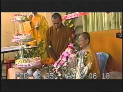 Lễ chúc thọ sư cô Thích Nữ Vạn Thanh 70 tuổi