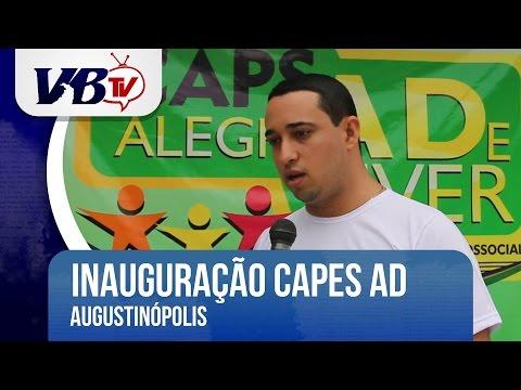 VBTv | Caps AD � inaugurado em Augustin�polis