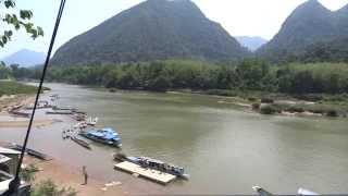 Muang Ngoy Laos  city photos : Passenger boat Muang Ngoy Laos
