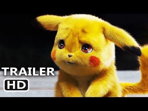POKEMON DETECTIVE PIKACHU Official Trailer (2019) Live Action Movie HD