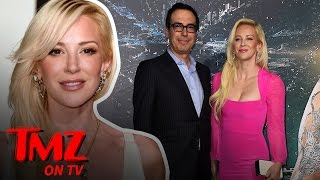 Steven Mnuchin could be Donald Trumps pick for Treasury Secretary and if that's true that means he will be bringing along his very hot fiancée Louise Linton.
