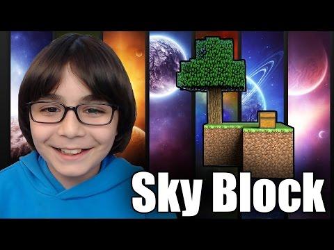 İSYAN  !!! - Minecraft Sky Block Serisi Öncesi Hazırlık