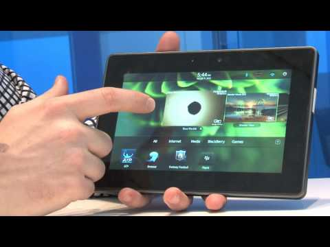 Detailed Demo: BlackBerry PlayBook Tablet