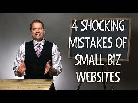 , title : '4 Shocking Mistakes of Small Business Websites- Are you missing out on sales?'