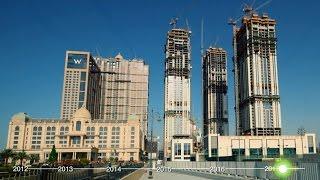 Al Habtoor City Construction Progress Time-lapse (April 2012 – February 2017)