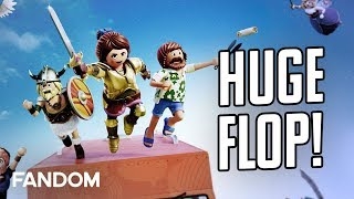 Playmobil: The Movie Flops Historically | Charting with Dan! by Clevver Movies
