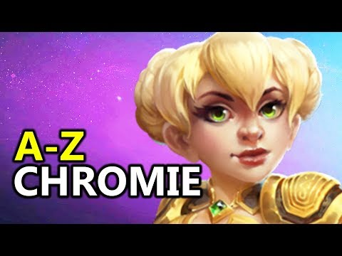 ♥ A - Z Chromie - Heroes of the Storm (HotS Gameplay)